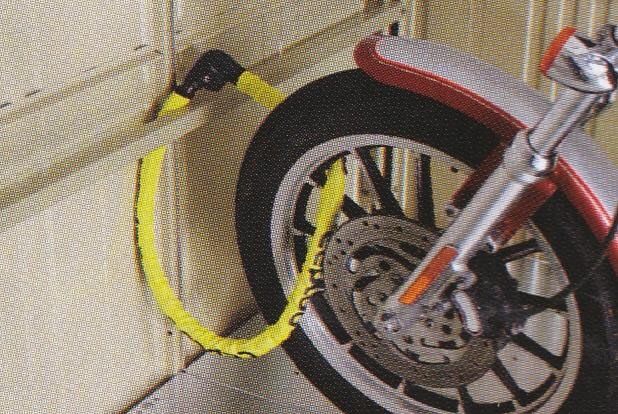 バイクガレージ防犯2